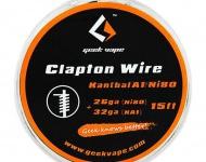 GeekVape Clapton Atomizer DIY Kanthal KA1/Ni80 Tape Wire (26GA Ni80 + 32GA) - 1metr