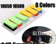 Smršťovací obaly pro baterie 18650 - PVC