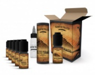 E-liquid DIY sada Premium Tobacco 6x10ml: Deluxe Tobacco
