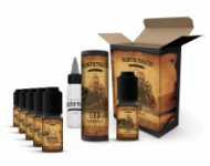E-liquid DIY sada Premium Tobacco 6x10ml: CHB