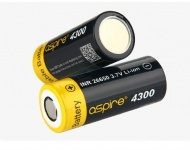 Baterie Aspire INR 26650 4300mAh High Drain 40A
