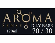 Beznikotinová báze AromaSense 70/30 VG/PG 120ml