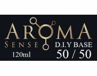 Beznikotinová báze AromaSense 50/50 VG/PG 120ml