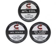 Coilology Předmotané spirálky pro MTL - 10ks