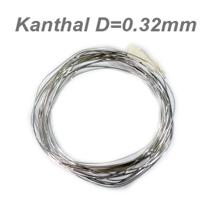 Atomizer replacement coil (Kanthal D=0.32mm) - 2m
