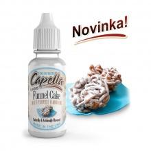 Příchuť Capella: Americký koláč (Funnel Cake) 13ml