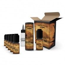 E-liquid DIY sada Premium Tobacco 6x10ml: Desert Ship