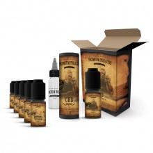E-liquid DIY sada Premium Tobacco 6x10ml: CHB