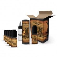 E-liquid DIY sada Premium Tobacco 6x10ml: Lucky Color