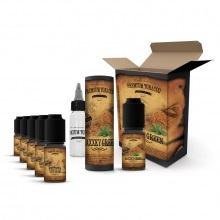 E-liquid DIY sada Premium Tobacco 6x10ml: MaXXky Green
