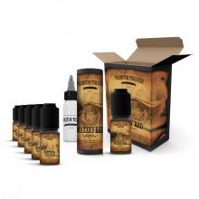 E-liquid DIY sada Premium Tobacco 6x10ml: MaXXky Red