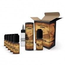 E-liquid DIY sada Premium Tobacco 6x10ml: RY4 Cigar