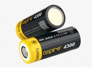 Baterie Aspire INR 26650 4300mAh High Drain 40A