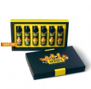Příchutě Heroes Shake & Vape dárkové balení 6x20ml